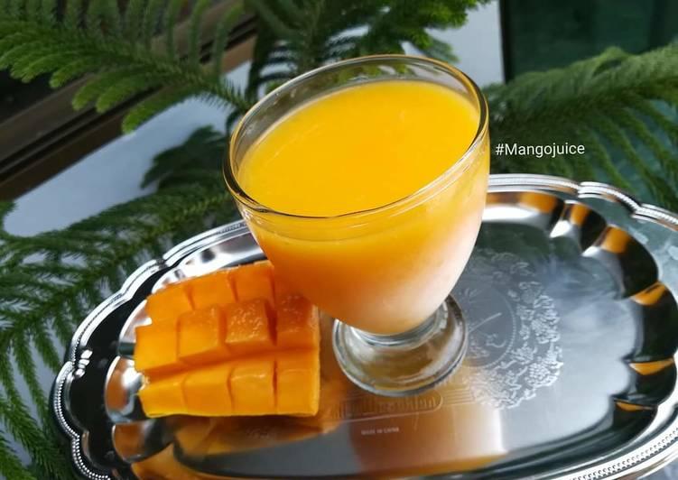 Recipe of Top-Rated Mango Juice