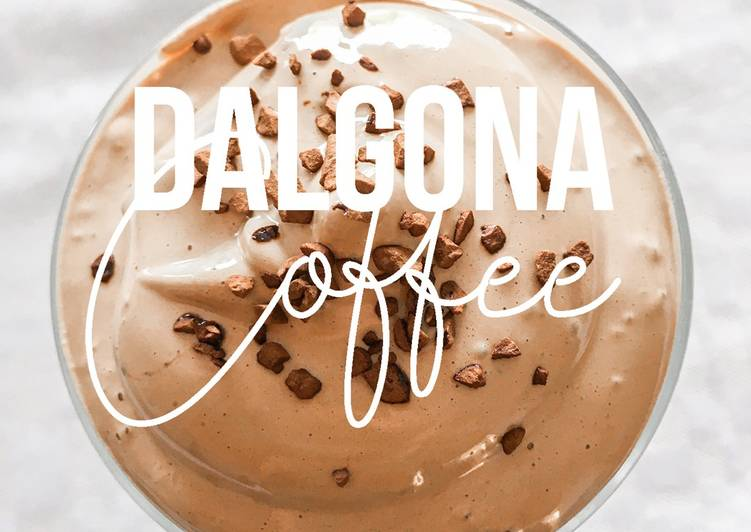 [The New TikTok Craze] The Dalgona Coffee: With Only 3 Ingredients