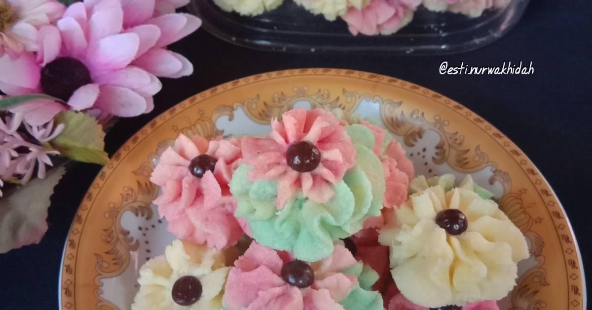 40 Resep Semprit Rainbow Enak Dan Sederhana Ala Rumahan Cookpad