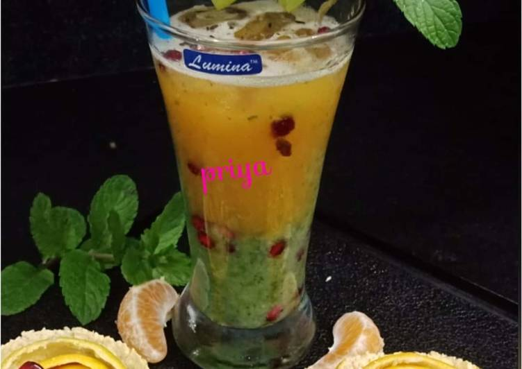 Fruits Minty Punch