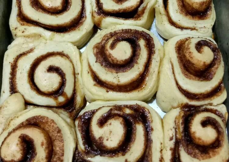 Cinnamon Rolls ala dapurku