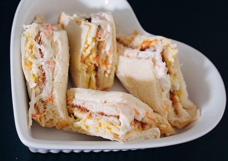Resep Sandwich Inkigayo ala Korea Paling Mudah