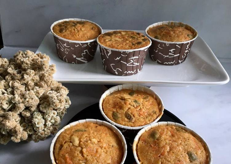 Carrot Cupcake / Cupcake Wortel