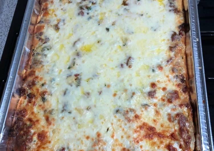 Recipe of Favorite Seafood lasagna