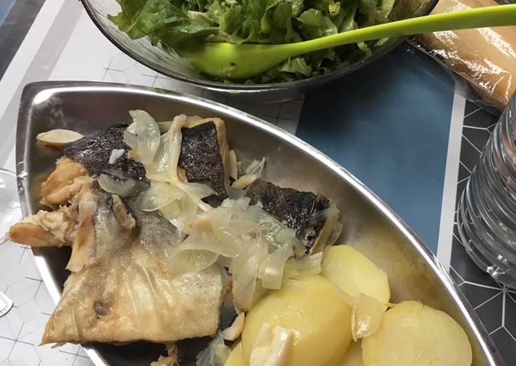 Easiest Way to Prepare Delicious Bacalho (morue) cuite à l'eau