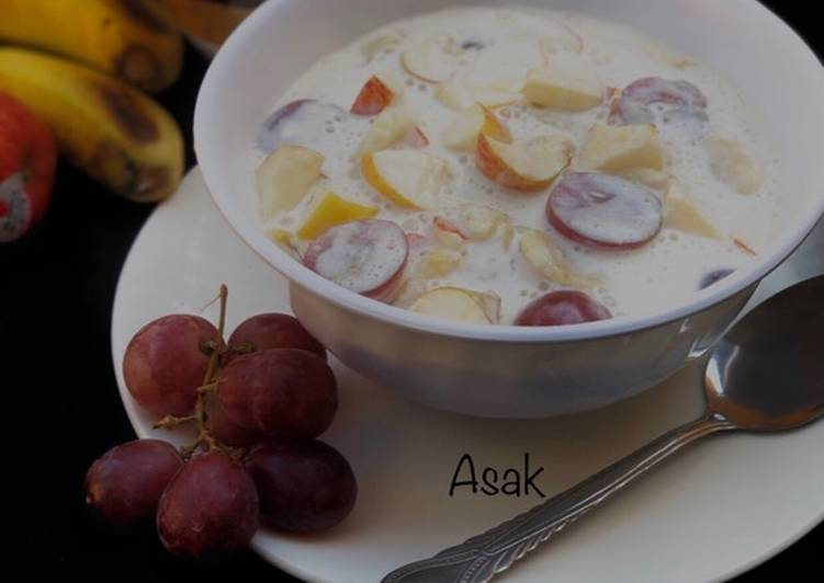 Step-by-Step Guide to Make Award-winning Creamy fruit salad