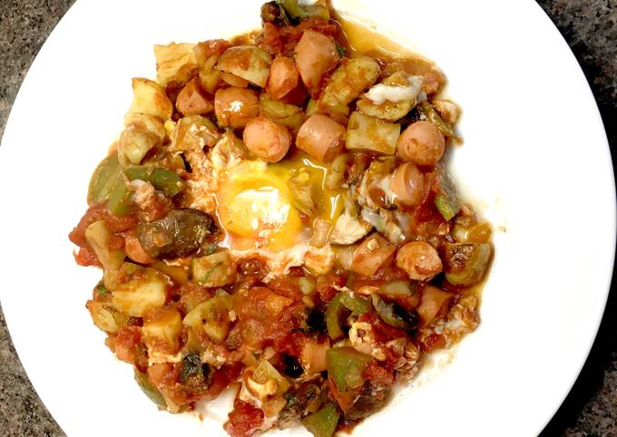 Recipe of Favorite Shakshouka Too