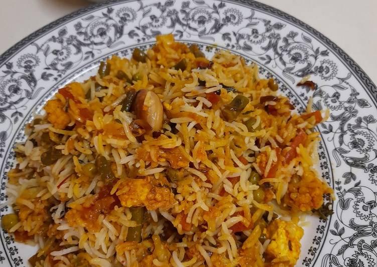 The Best Dinner Easy Refreshing Veg Dum Biryani