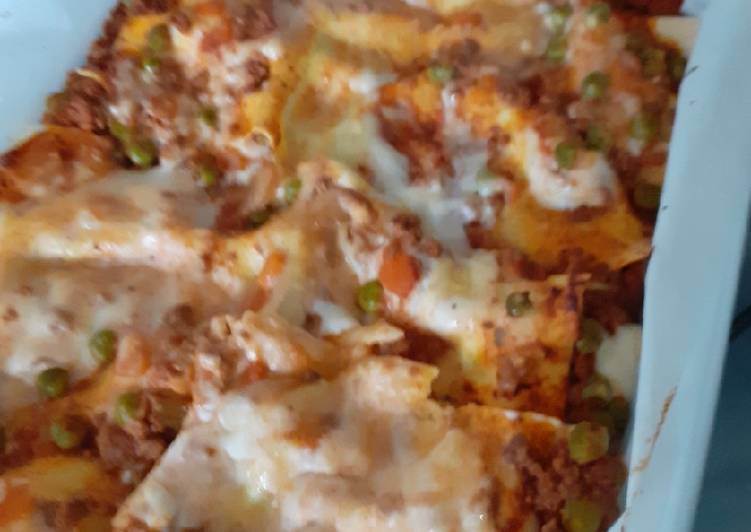 Recipe: Yummy Lasagne con piselli e classiche 😜😜🤩🤩😋😋😘😘