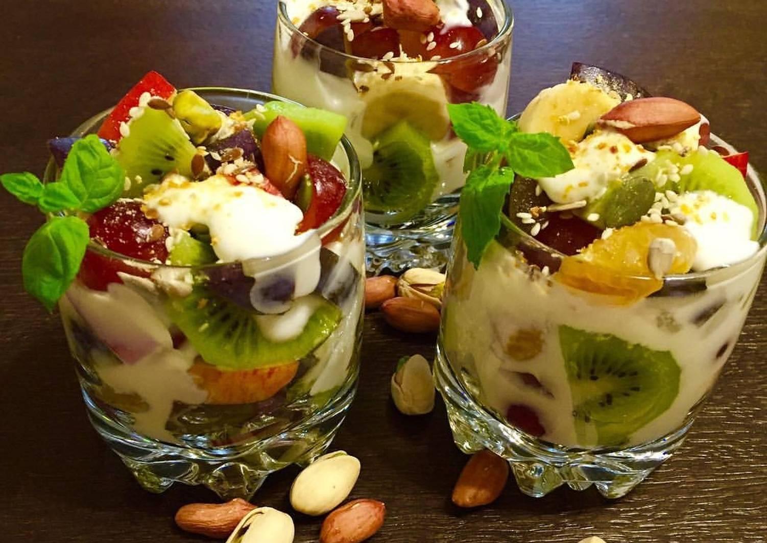 фруктовый салат пошаговый рецепт с фото они могут определить