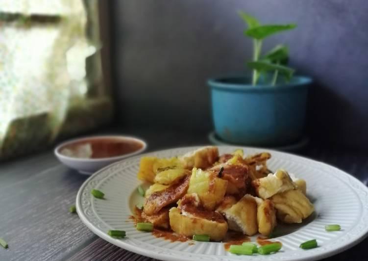 Gluten free cucur udang