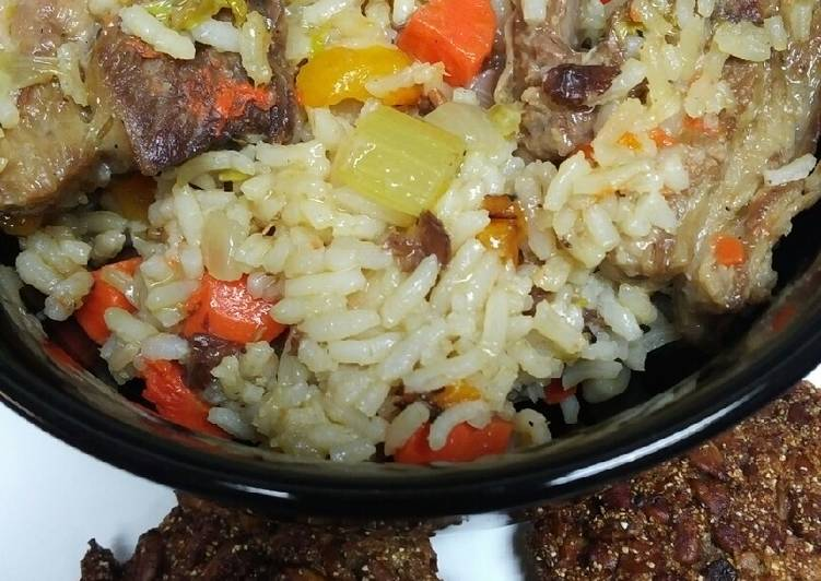 Lamb and Rice