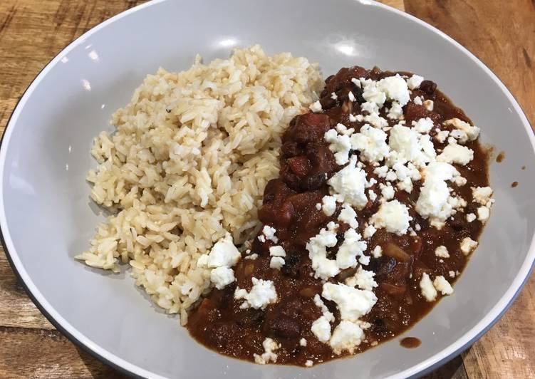 How to Make Perfect Black Bean Chilli