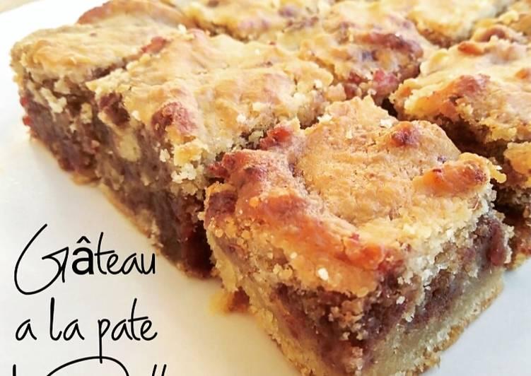 Recipes  Gâteau a la pâte de dattes