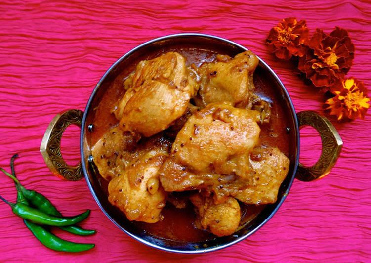 Goan Style Chicken Curry Recipe By Bibi Cookpad