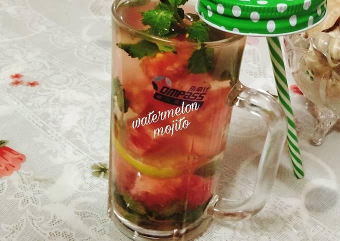 Watermelon 🍉 🍉🍉🍻🍻 mojito
