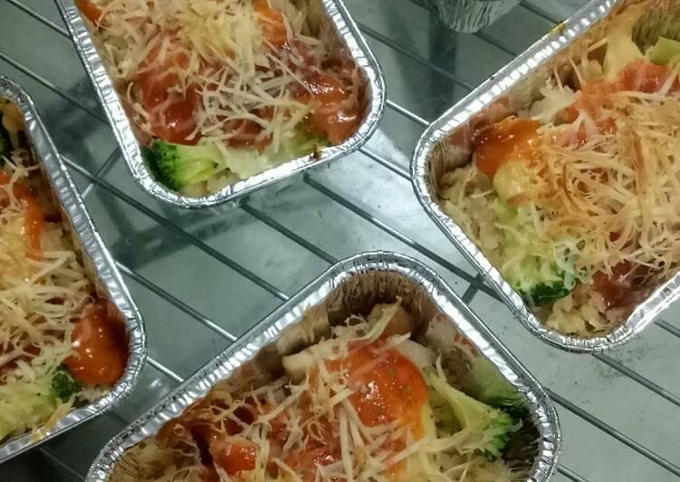 Chicken Mentai Rice