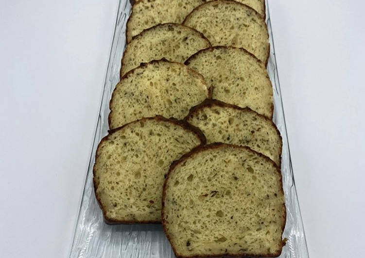recette Cake à l'emmental et au miel délicieux