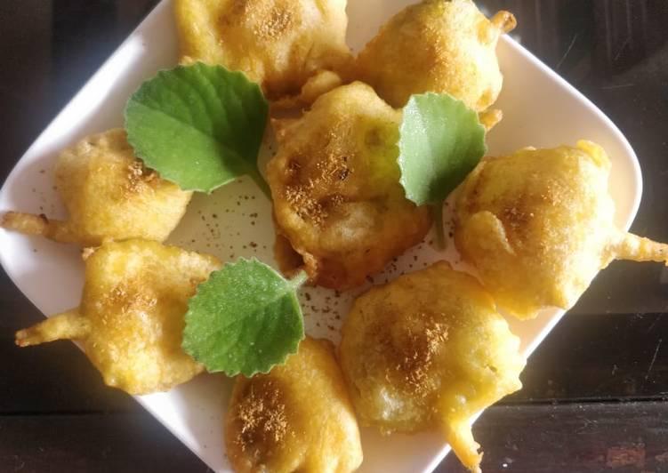 Easiest Way to Prepare Super Quick Homemade Ajwain leaves bhajia