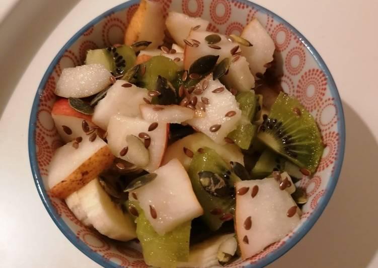 Comment Préparer Les Salade de fruits