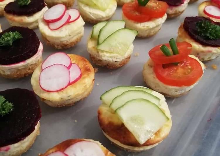 Recette Des Cheesecake du jardinier