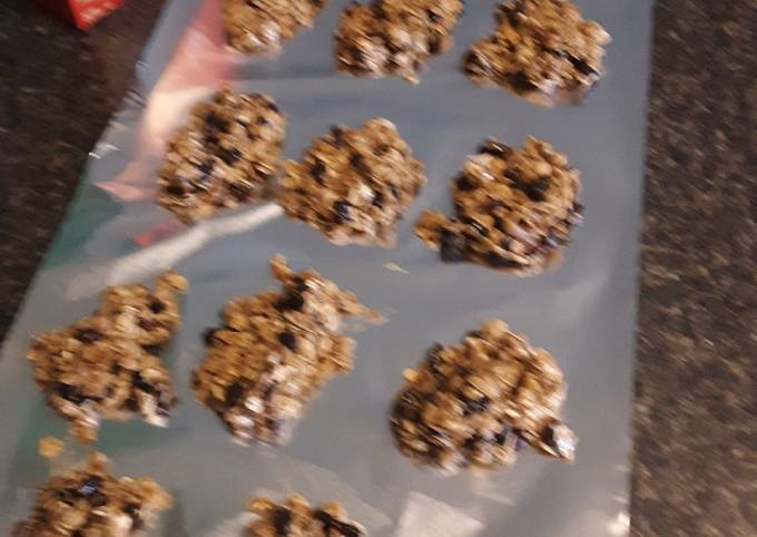 Recipe Perfect Oatmeal Raisin No-Bake Cookies