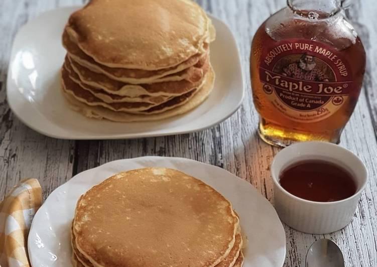 Resep Pancake Fluffy Terbaik