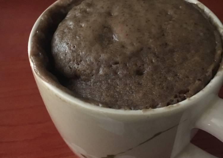 Chocolate and Cookie Mug Cake