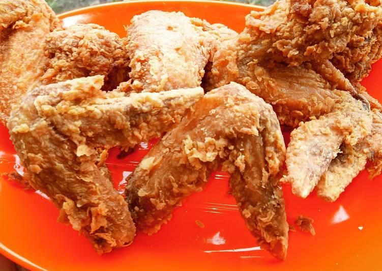 Resep Ayam Goreng Crispy Simple Anti Gagal
