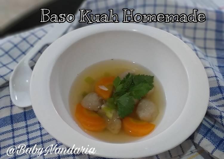 MPASI 15M - Baso Kuah Homemade