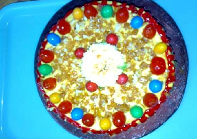 Easiest Way to Cook Appetizing Vanilla Crunch Cake