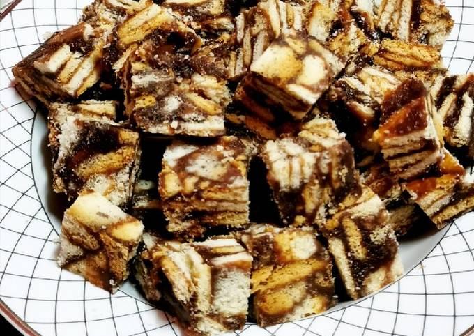 Resep Kek batek awesome yang Enak