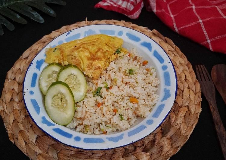 Nasi Goreng Sawi Putih