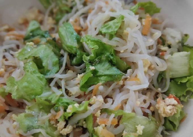 Mie Shirataki Telur (Rendah Kalori)