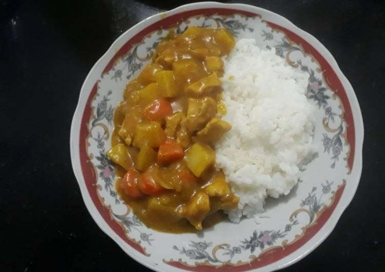 Kari Ayam cepat dan mudah - cookandrecipe.com