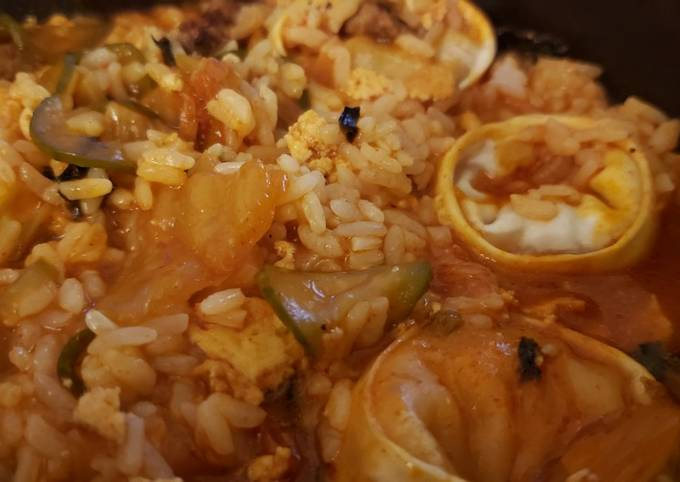 Steps to Prepare Homemade Kimchi Stew