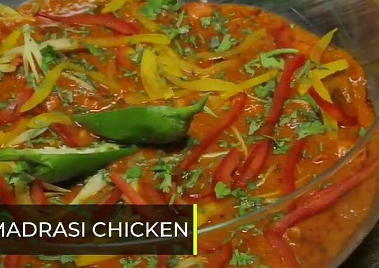 10 Minute Easiest Way to Prepare Love Madrasi Chicken