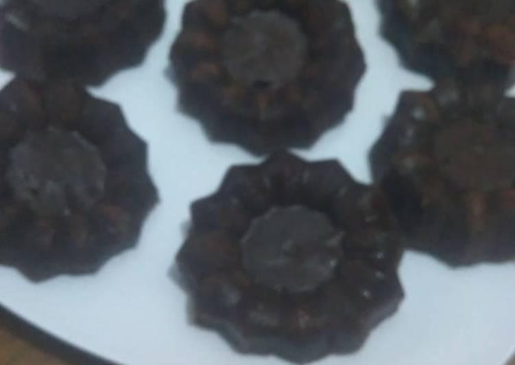 Bolu kukus chocolatos simpel(no mixer, takaran sendok)