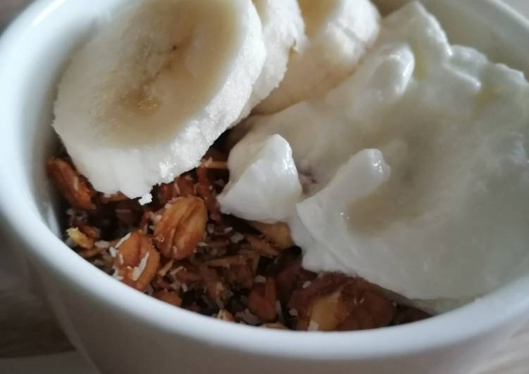 Microwave Granola in mug