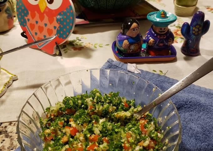 How to Prepare Appetizing Tabbouleh