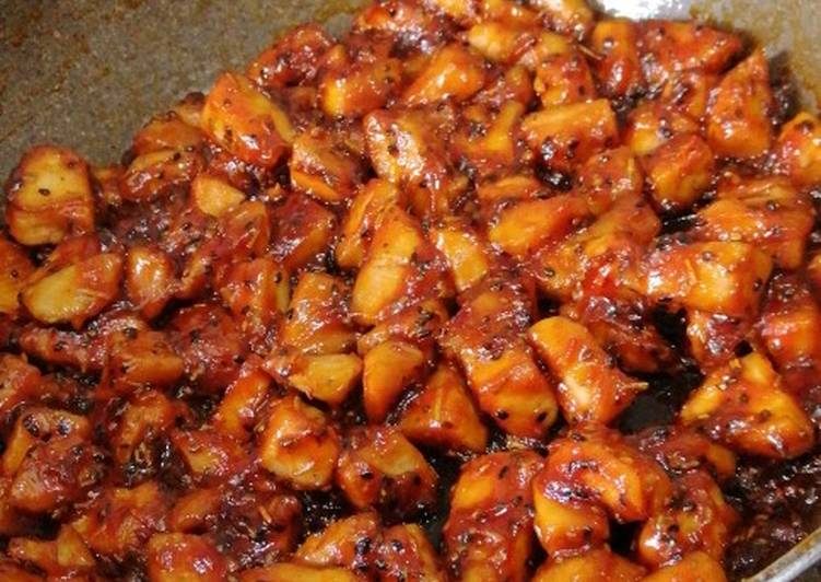How to Prepare Appetizing Sweet and Spicy Chicken Breast