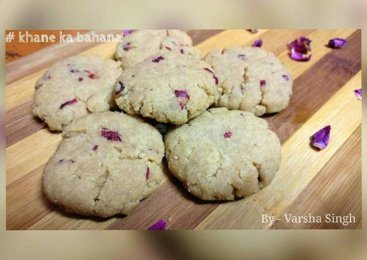 Whole wheat Rose Cookies - Laurie G Edwards