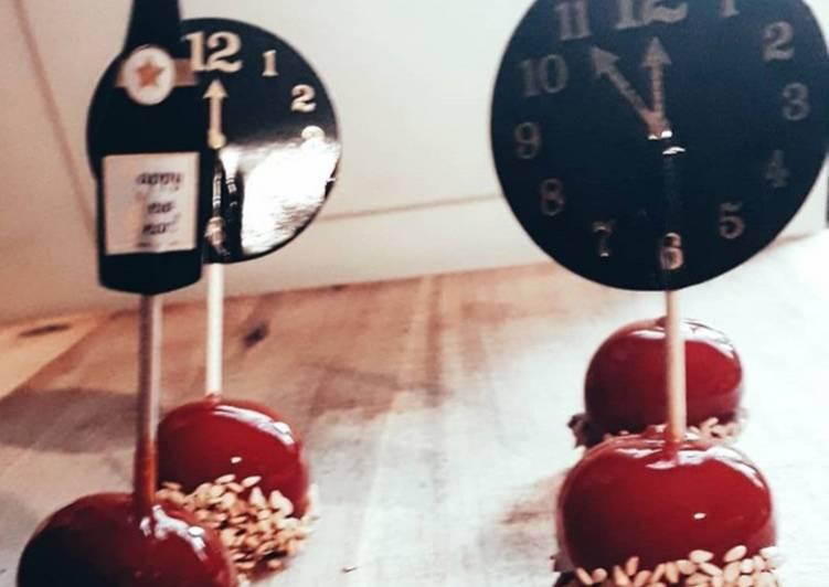 Tomate cerise façon pomme d'amour pour l'apéro