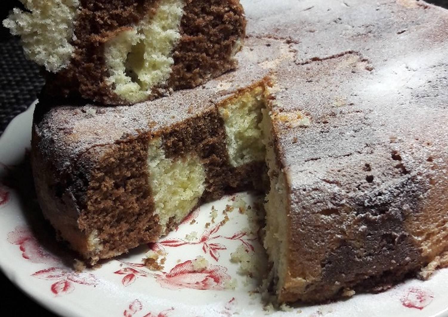 Мраморный пирог рецепт с фото пошагово это зачастую