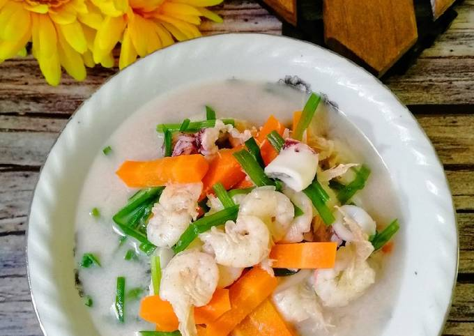 Masak Lemak Udang Sayur