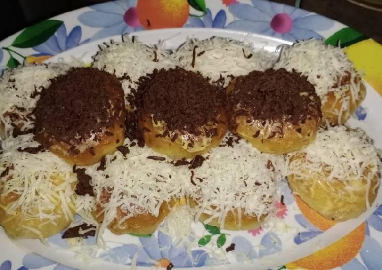 Resep Roti Jabrik ala Guee simpel tanpa telur tapi empuk lembut Terenak