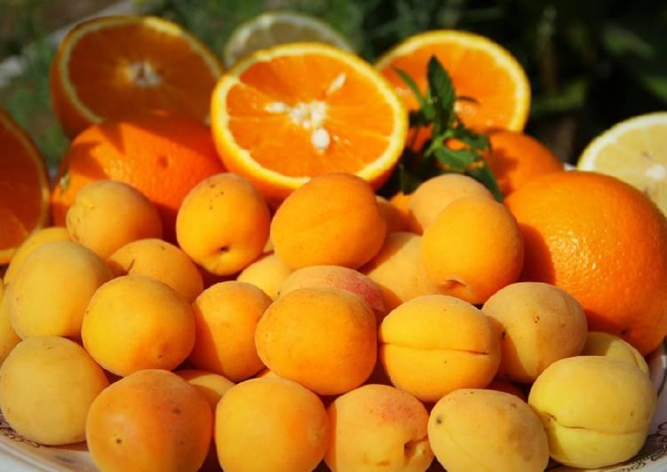картинки абрикос и апельсина получает