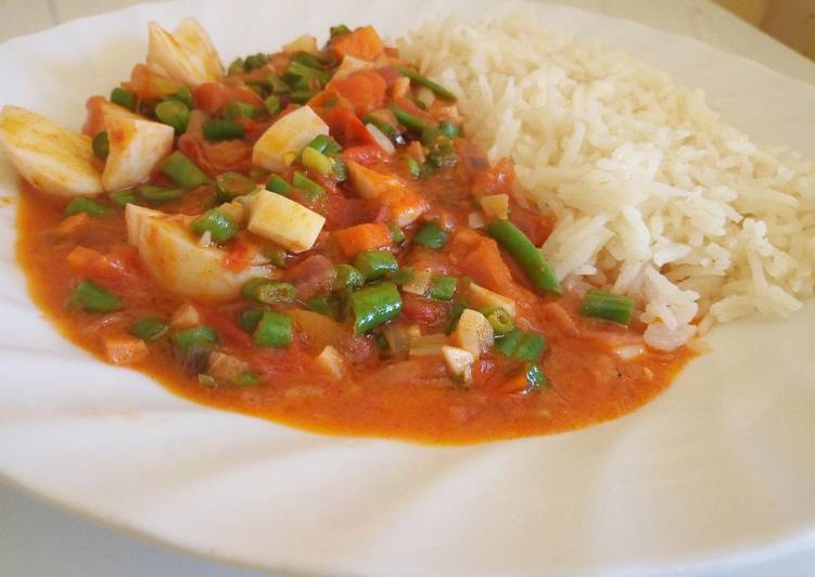 Vegetable Egg Curry