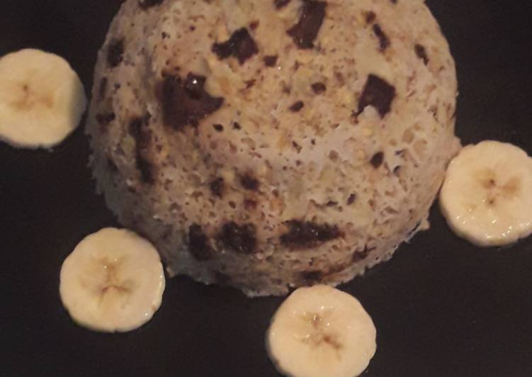 Bowl cake a la banane