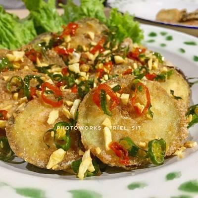 Resep Terong Garam Cabe Pr Olahanterong Oleh Frielingga Sit Cookpad